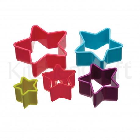Pack 5 Cortadores Estrella