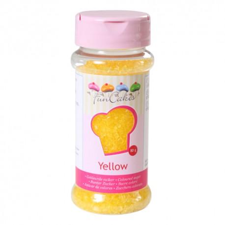 Azúcar Amarilla 80gr Funcakes