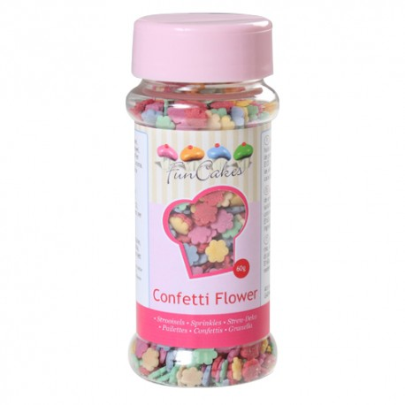 Sprinkles Flores 60gr Funcakes