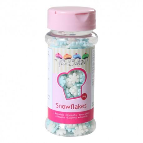Sprinkles Copos Blanco/Azul 60gr Funcakes