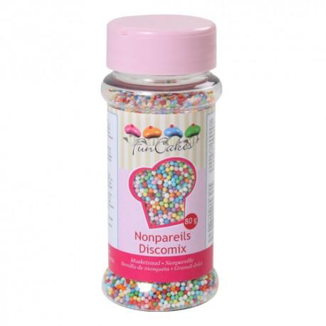 Sprinkles Nonpareils Perlitas Multicolor Funcakes