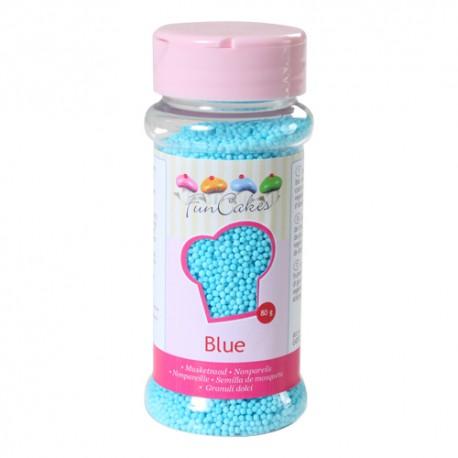 Sprinkles Nonpareils Perlitas Azul Funcakes