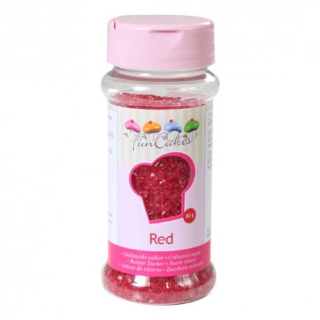Azúcar Roja 80gr Funcakes