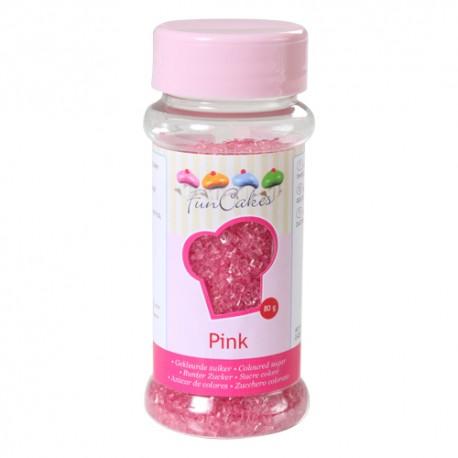 Azúcar Rosa 80gr Funcakes
