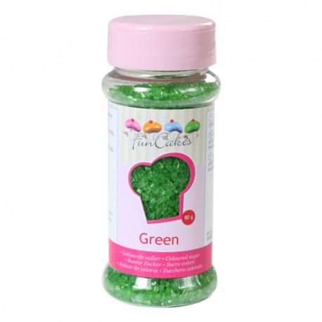 Azúcar Verde 80gr Funcakes