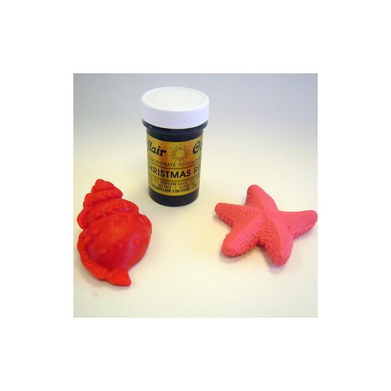 Colorante Rojo Navidad Sugarflair - Dulces Utensilios, Ferretería JAMA