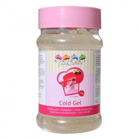 Cobertura Transparente Gel Funcakes