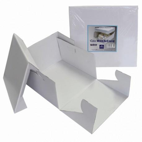 Caja Tarta con Tapa 25 x 25cm PME
