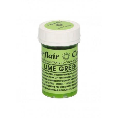 Colorante Verde Lima Sugarflair