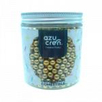 Mini Perlas Cocholate y Azúcar Oro