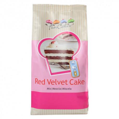Mezcla para Bizcocho Red Velvet Funcakes 1Kg