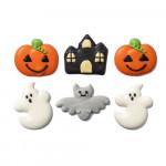 6 Decoraciones de Azúcar Halloween
